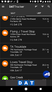 DAT Trucker - GPS + Truckloads- screenshot thumbnail