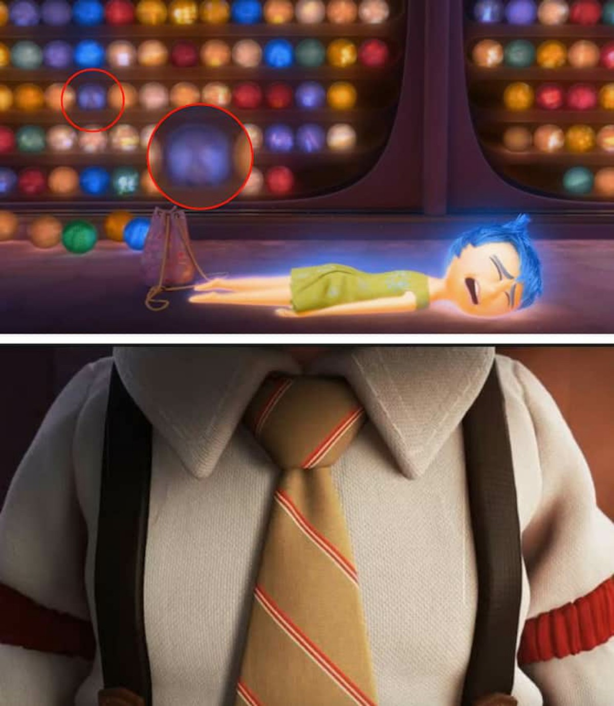 Carl and Ellie in Inside Out