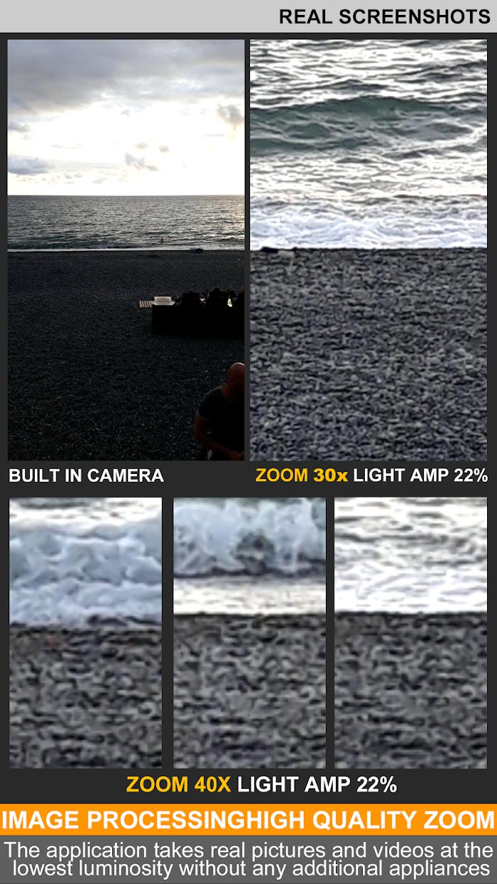 Binoculars 40x zoom Night Mode (Photo and Video) v1 2 2 For