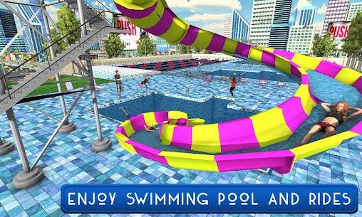سباحة حوض السباحة الصيف مرح: الشرائح المياه مغامرة 1