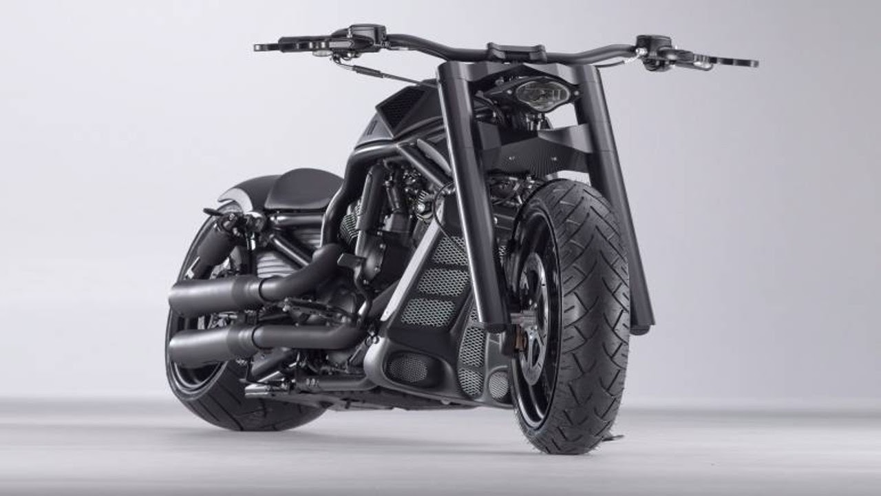 "Harley Davidson V Rod ""Transformer"" by Bündnerbike"