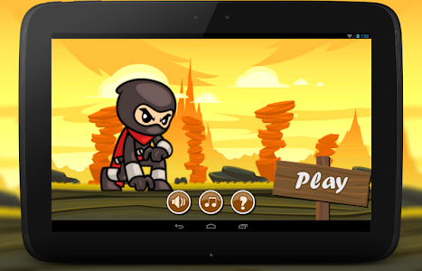 Ninja Runner Rush Heroes Devil screenshot 0