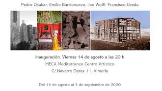 Cartel inauguración exposición.