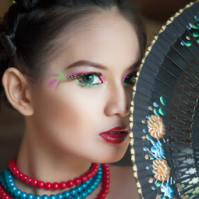 Hi...You! by Bambang Leksmono - People Portraits of Women