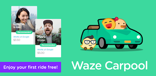 Waze Carpool - Ride together  Commute better  – Apps on