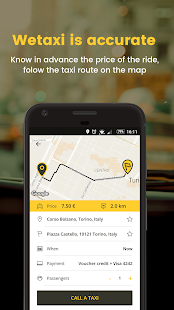 Wetaxi - the App for taxi sharing - náhled
