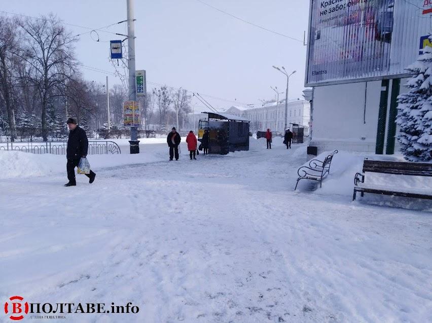 Полтаву вхурделило: ранок у місті після сильної негоди (ФОТО, ВІДЕО), фото-21