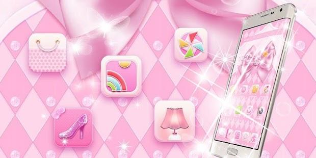 Pink Silk Bow - náhled