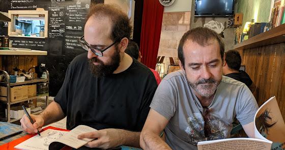 Fernando Labordeta y Fran Ortega presentan este  viernes 'Estuvimos tan cerca'