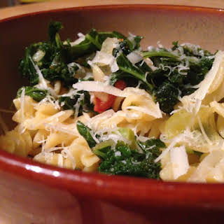 Fusilli And Kale.