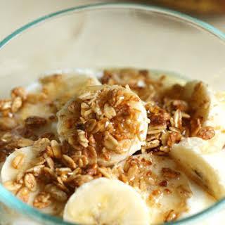 Greek Yogurt Honey Breakfast Bowl.
