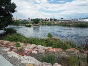 Photo: Day 20 Riverton to Casper WY 120 miles, 2500' climbing: Platte River in Casper