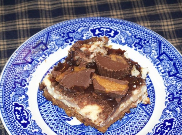 Peanut Butter Cup Cheesecake Squares Recipe