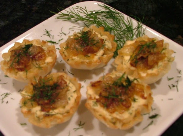 Salmon Mousse Tartlets W/balsamic Caramelized Onio Recipe