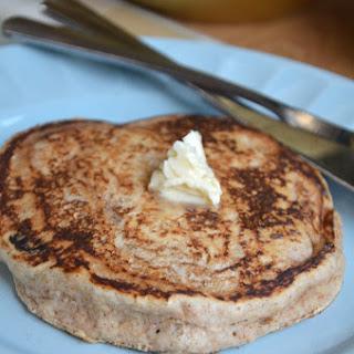 Fluffy Vegan Whole Wheat Pancakes