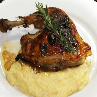 Pan Roasted Chicken with Rosemary and Kalamata Olives
