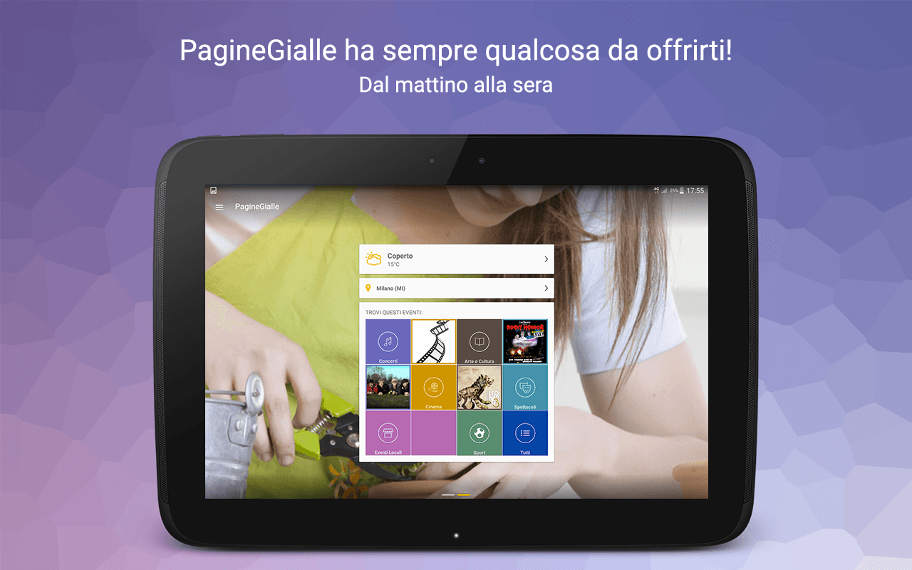 PagineGialle- screenshot