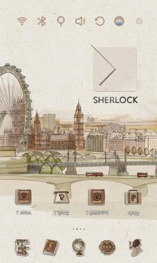 Sherlock Launcher Theme|玩個人化App免費|玩APPs