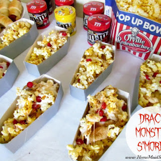 Drac's Monster S'mores Popcorn