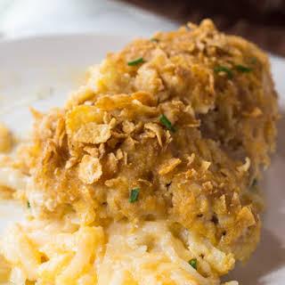Cheesy Potato Stuffed Chicken Breasts.