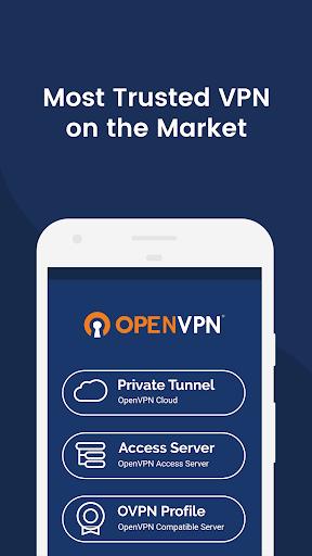 OpenVPN Connect – Fast & Safe SSL VPN Client screenshot