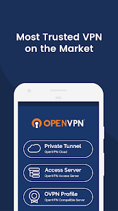 OpenVPN Connect – Fast & Safe SSL VPN Client App Download For Android and iPhone 1
