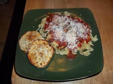 Chicken Parmesan Made easy