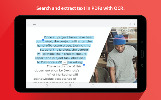 Adobe Scan: PDF Scanner with OCR, PDF Creator screenshot 12