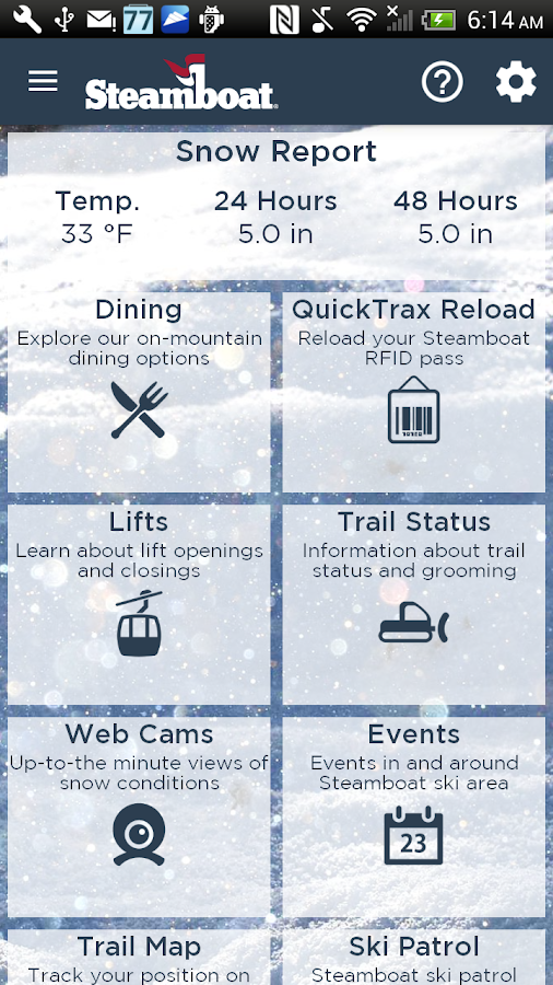 Steamboat Ski and Resort- screenshot