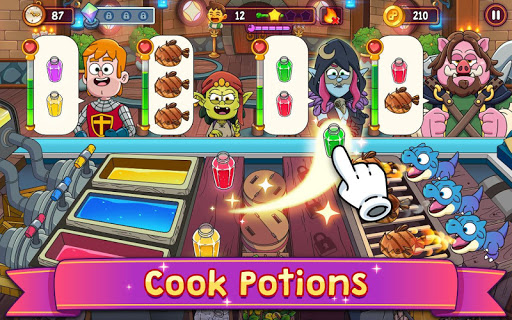 Potion Punch 2: Fantasy Cooking Adventures apkmr screenshots 9