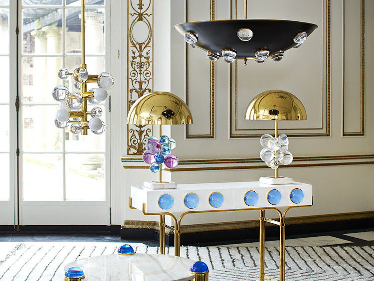 The Jonathan Adler Globo Table Lamp.