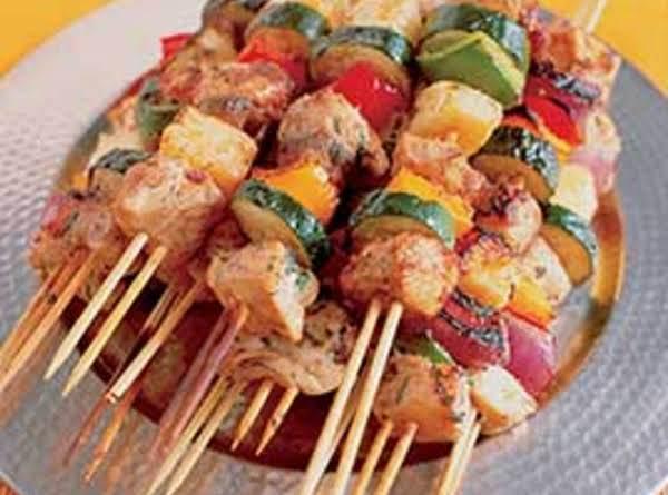 Spicy Orange Kebabs