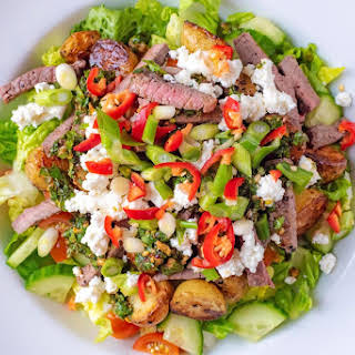 Beef Strip Salad Recipes.