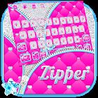 Zipper Glitter Keyboard icon