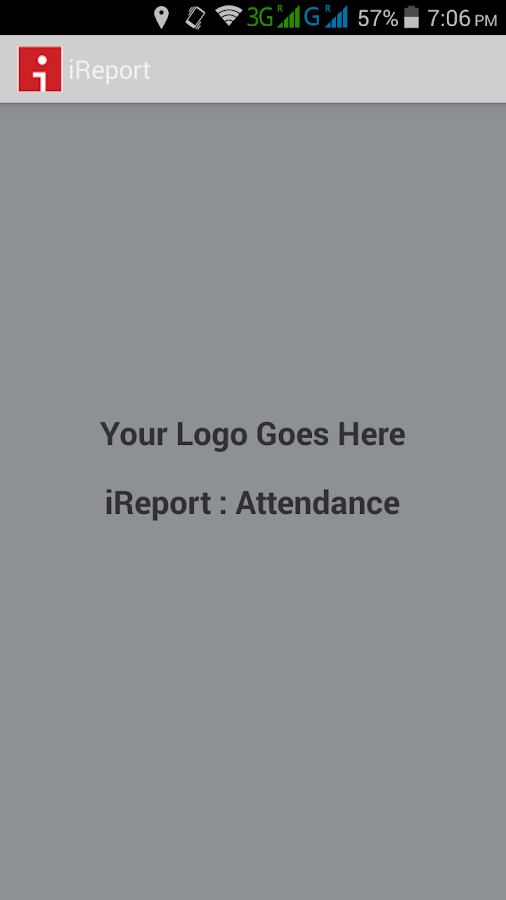 iReport: mobile attendance- screenshot