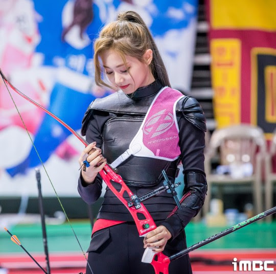 twice tzuyu archery3