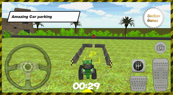 3D-Tractor-Car-Parking 5