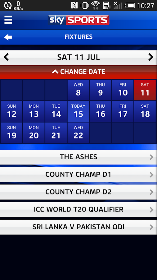 Sky Sports Live Cricket SC- screenshot