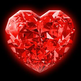 Алмазные Сердца Живые Обои
