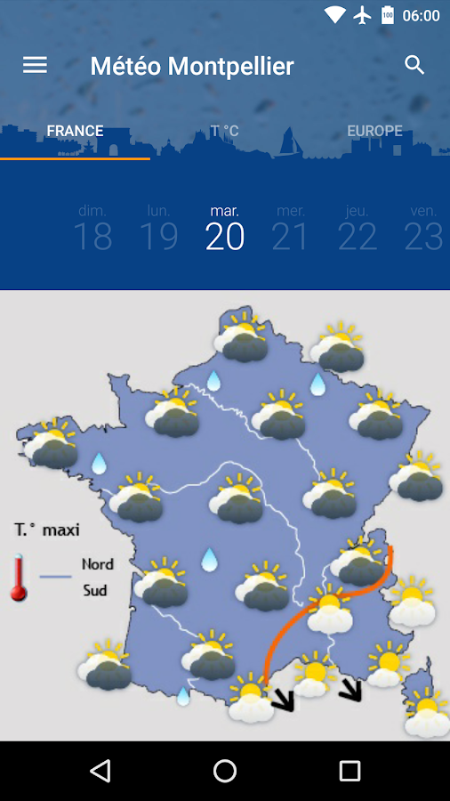 M t o montpellier android apps on google play - Meteo agricole montpellier ...