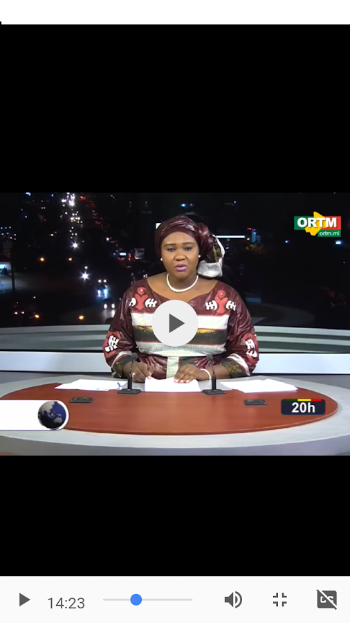 ORTM Mali TV- screenshot