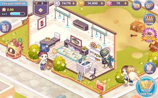 Kawaii Home Design - Decor & Fashion Game filehippodl screenshot 11