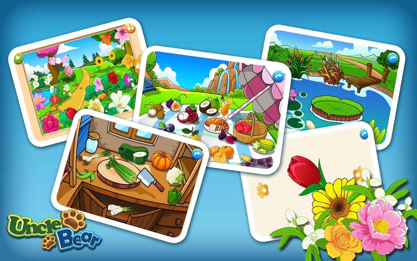 Kids Puzzle: Plants- screenshot