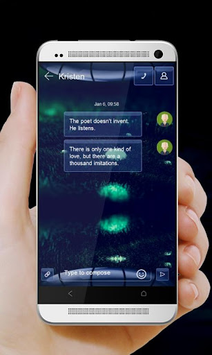玩個人化App|蓝色球 GO SMS免費|APP試玩