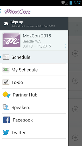 The official MozCon 2015 app