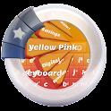 Yellow Pink Keyboard icon