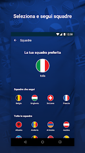 UEFA National Team Competitions Screenshot