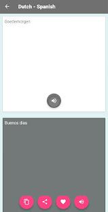 Download Dutch - Spanish Translator For PC Windows and Mac apk screenshot 4