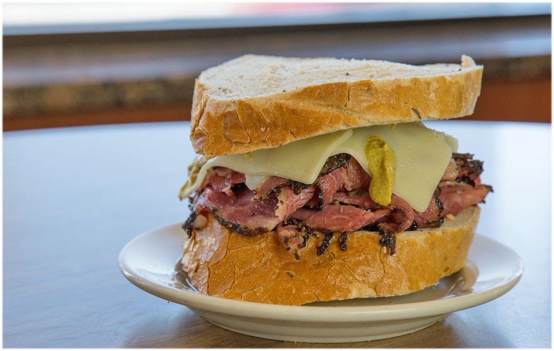 Pastrami sandwich from Shapiro's