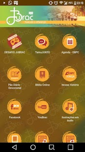 JUBRAC Moc App - náhled